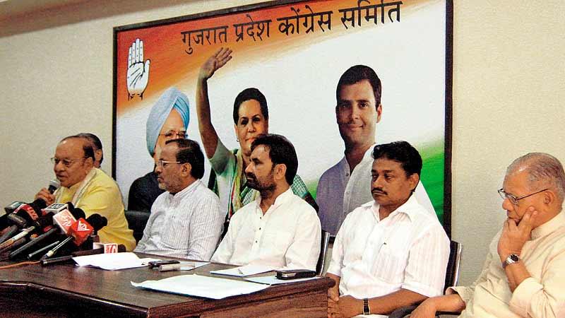 Congress party in Gujarat