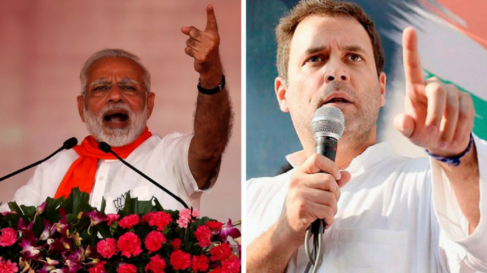 BJP and Congress in 2019 Lok Sabha elections