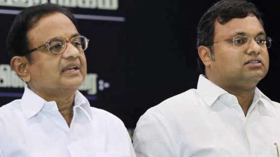 Corruption charges against Karti Chidambaram