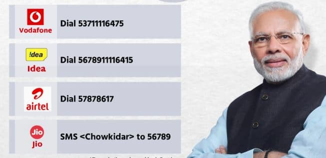 BJP steps up Main Bhi Chowkidar Campaign releases caller tune service to connect with people