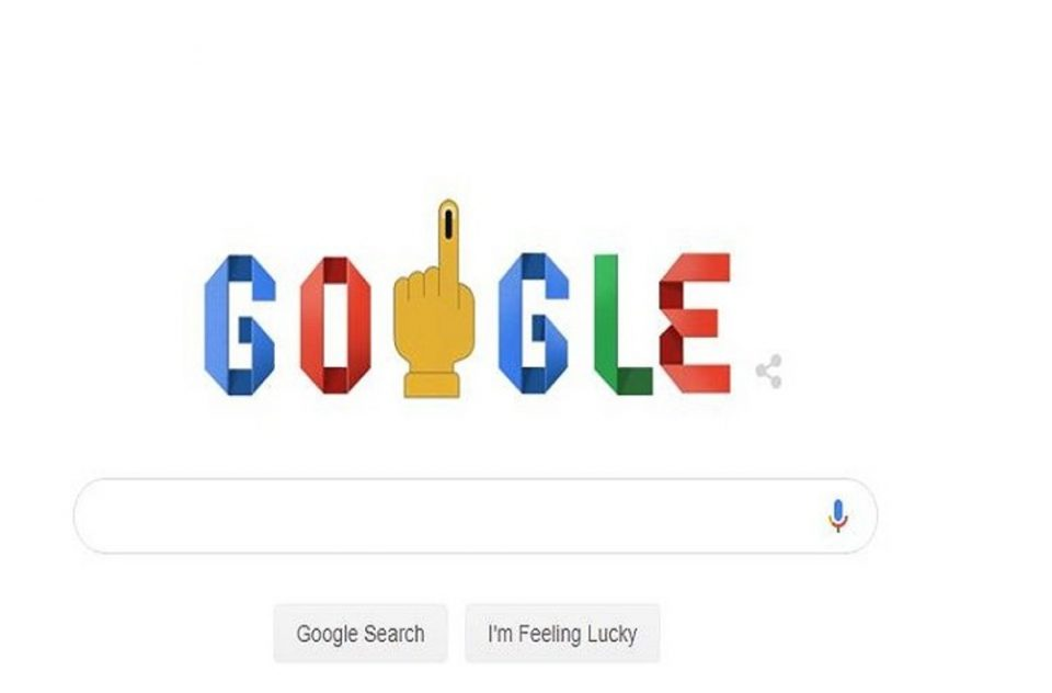 Google marks the beginning of 2019 Lok Sabha Elections with a doodle