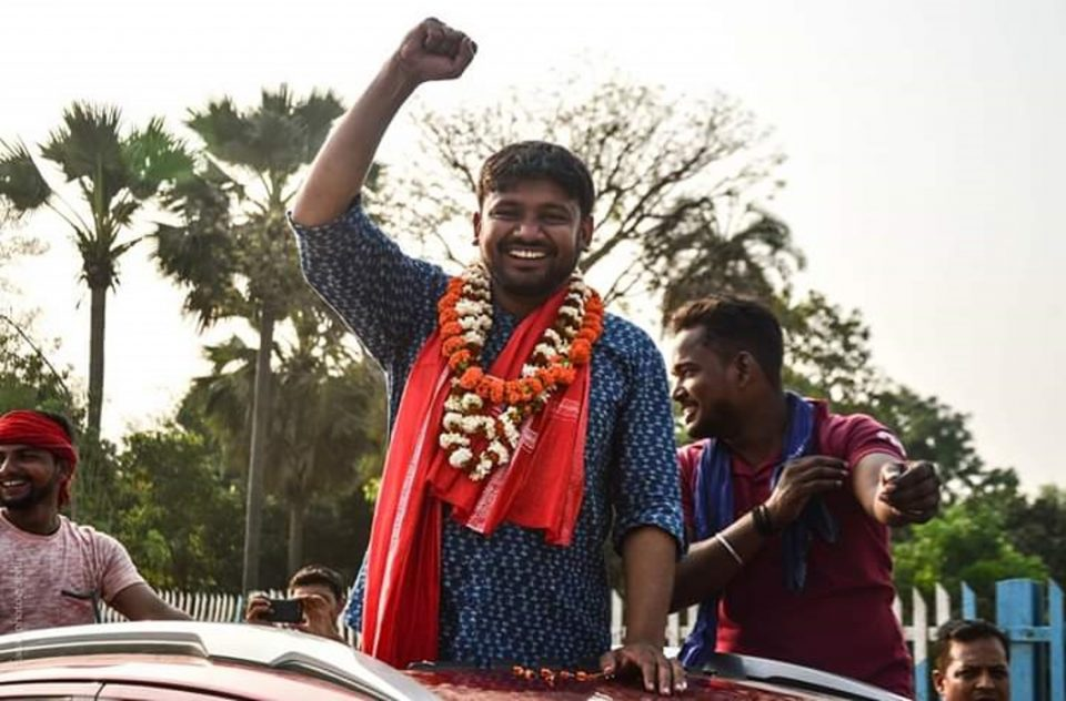 Kanhaiya Kumar files nomination from Begusarai