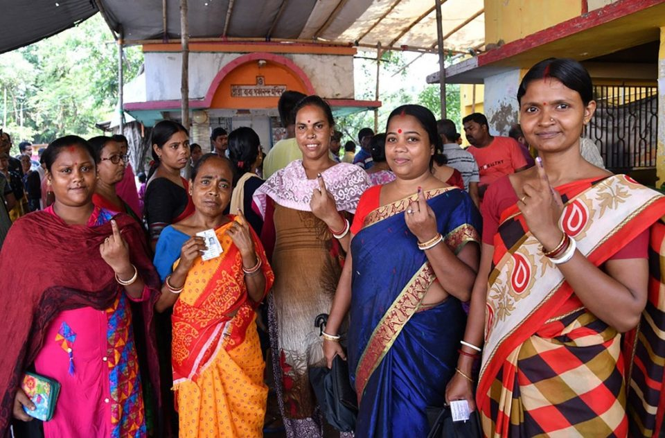 lok sabha election 5th phase polling more than 60 percent voting in 71 seats